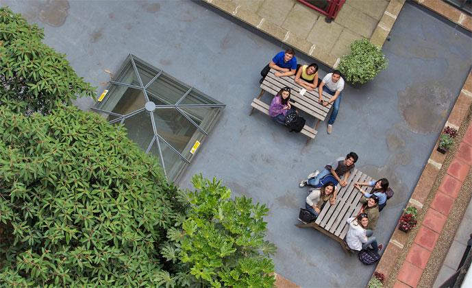 학교 정원