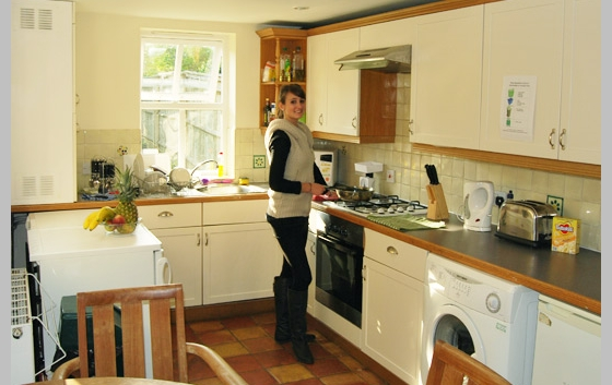 Typical student house kitchen