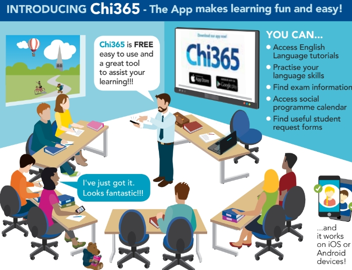 Chi365 - The App makes learning fun and easy!
