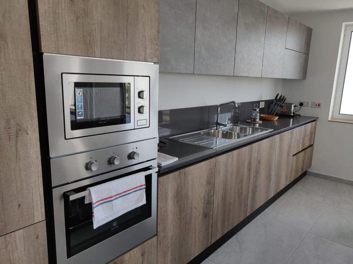 Claret apart kitchen