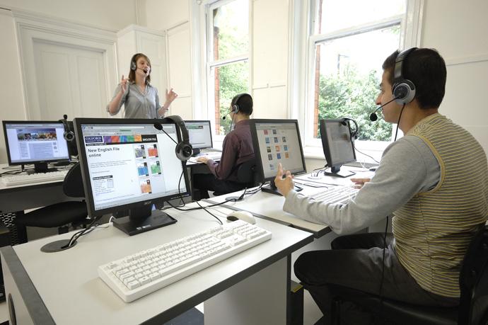 Digital Language Laboratory Class