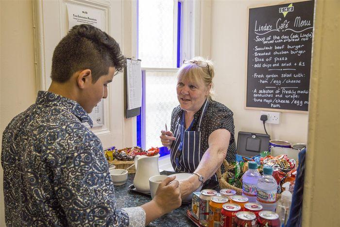 CES Harrogate - Linda's cafe